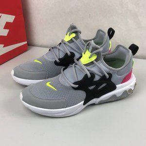 Nike React Presto Running Shoes BQ4002-004 Grey